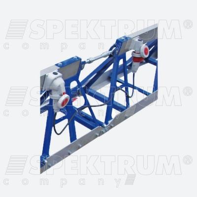 Сегментная виброрейка РВ-04 (виброплатформа)