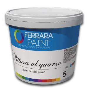 Грунт-краска с кварцевым песком Pittura al quarzo, 5 л